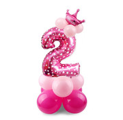 Joni's Winkel Ballon Pakket 2 roze