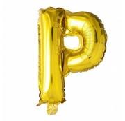 Joni's Winkel Folieballon P Goud 35 cm