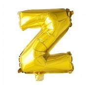 Joni's Winkel Folieballon Z Goud 35 cm