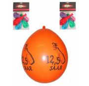 PartyXplosion Ballonnen 12,5 Multi 8stuks 30cm