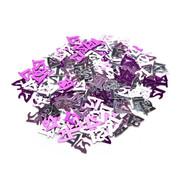 Joni's Winkel Confetti 21 jaar Roze/Zilver 14 gram