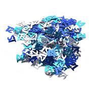 Joni's Winkel Confetti 21 jaar Blauw/Zilver 14 gram