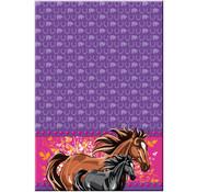Folat Tafelkleed I love horses 130 x 180