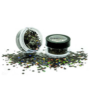 PaintGlow PaintGlow Chunky Glitter shakers Black Star
