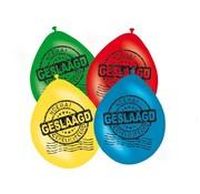 Folat Ballonnen Geslaagd 8 stuks 30 cm