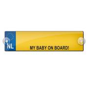 "Miko Naambord ""My baby on board!"""