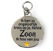 "Miko Charms for you ""Liefste  Zoon"""