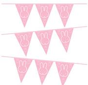Nijntje Vlaggenlijn Nijntje Roze 10 meter