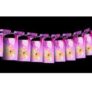 Haza Original Slinger Roze meisje 4 Meter