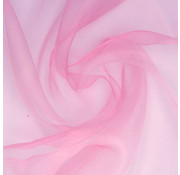 Joni's Winkel Organza/Tule 48x500 cm baby roze
