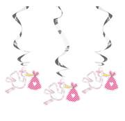 Folat Swirl Ooievaar Roze 3 stuks