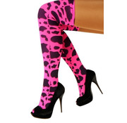 PartyXplosion Stay up kousen Roze met vlekken