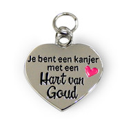 "Miko Charms for you ""Hart van goud"""