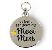 "Miko Charms for you ""Mooi mens"""