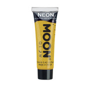 Moon Creations Moon-Glow Face & Body paint UV Glitter Golden Yellow