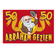 Gevelvlag Abraham Gezien 90x60 cm