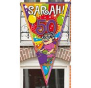 Sarah Puntvlag 90x150cm