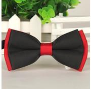 Strik Zwart/Rood