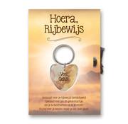 Miko Gelukshart Sleutelhanger Giftcard Hoera, Rijbewijs