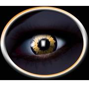 PartyXclusive UV Orange Animal Lenzen 1 paar (12 maanden)