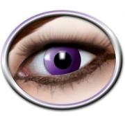 PartyXclusive Purple gothic Lenzen 1 paar (1 maand)