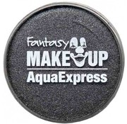 Fantasy Make-up Fantasie make up Schmink Metallic Antraciet 15 gr
