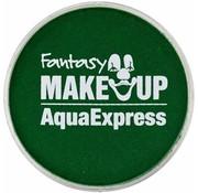 Fantasy Make-up Fantasie make up Schmink Donker groen 15 gr