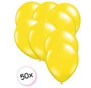Joni's Winkel Ballonnen Geel 50 stuks 27 cm