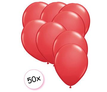 Joni's Winkel Ballonnen Rood 50 stuks 27 cm