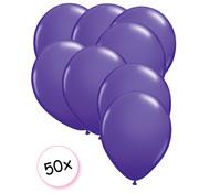 Joni's Winkel Ballonnen Paars 50 stuks 27 cm