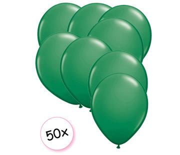 Joni's Winkel Ballonnen Groen 50 stuks 27 cm