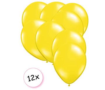 Joni's Winkel Ballonnen Geel 12 stuks 27 cm