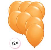 Joni's Winkel Ballonnen Oranje 12 stuks 27 cm