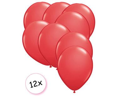 Joni's Winkel Ballonnen Rood 12 stuks 27 cm