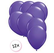 Joni's Winkel Ballonnen Paars 12 stuks 27 cm