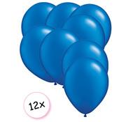 Joni's Winkel Ballonnen Blauw 12 stuks 27 cm