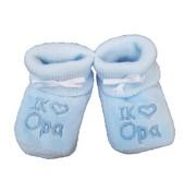 Joni's Winkel Slofjes: I love opa blauw