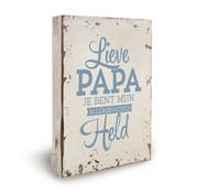 """Miko Houten tekstbord """"Liefste Papa"""""""