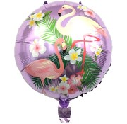 Joni's Winkel Folieballon Flamingo Paars