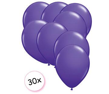 Joni's Winkel Ballonnen Paars 30 stuks 27 cm