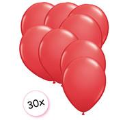 Joni's Winkel Ballonnen Rood 30 stuks 27 cm
