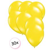 Joni's Winkel Ballonnen Geel 30 stuks 27 cm