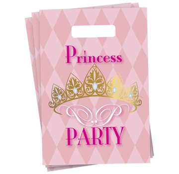 Haza Original Feestzakjes Princess Party 6 stuks