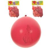 PartyXplosion Ballonnen Prinssen 10 stuks 30 cm