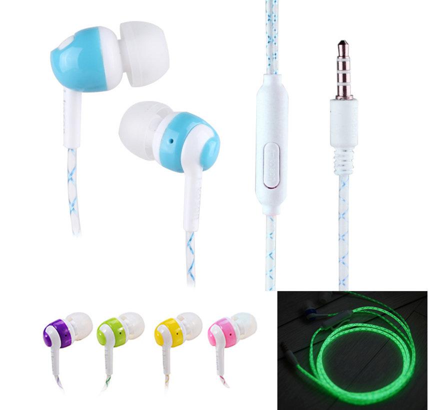 Glow-in-the-dark oordopjes