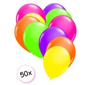 Joni's Glow-Shop Ballonnen Neon 50 stuks 27 cm