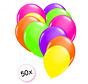 Ballonnen Neon 50 stuks 27 cm