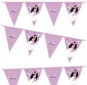 Haza Original Vlaggenlijn Just Married 6 meter