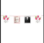 Boland Vlaggenlijn Leve het Bruidspaar  6 meter