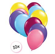 Joni's Glow-Shop Ballonnen Eenhoorn 10 stuks 27 cm